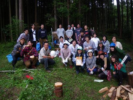 森のたね 静岡銀行森づくり