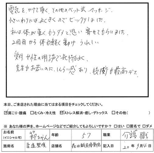 口コミ評判5