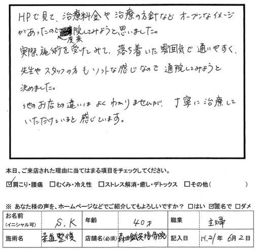 口コミ評判42
