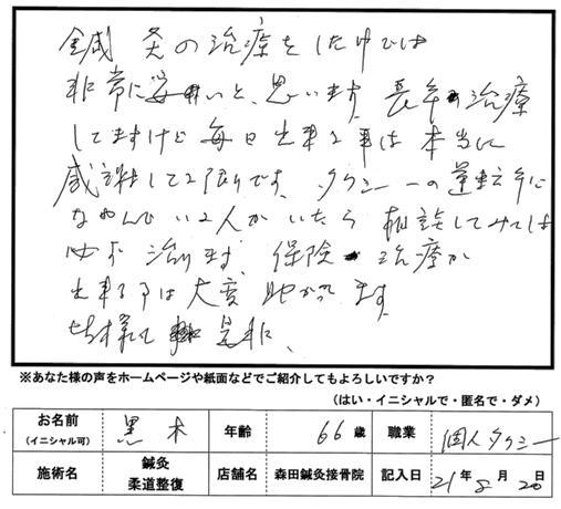 口コミ評判70