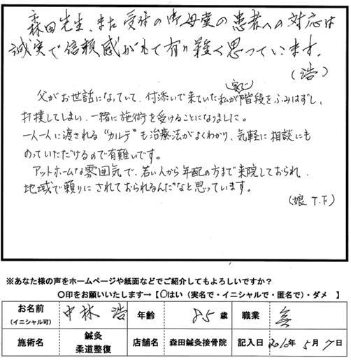 口コミ評判165