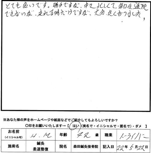 口コミ評判166