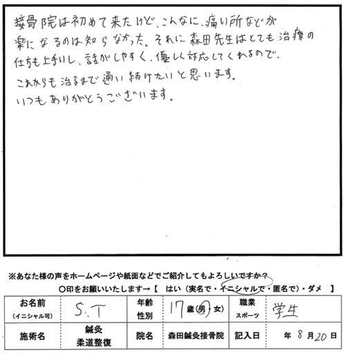 口コミ評判198