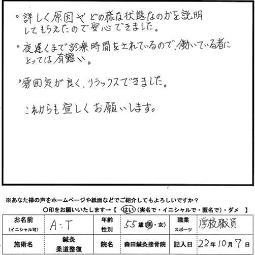 口コミ評判212