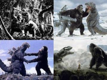 キングコングの闘い
