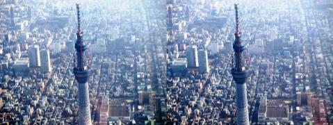 東京スカイツリー③11.02.26(交差法)