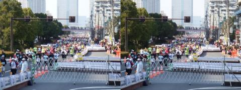 東京マラソン②11.02.27(交差法)