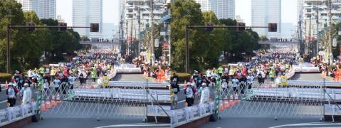 東京マラソン②11.02.27(平行法)