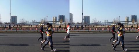 東京マラソン④11.02.27(平行法)