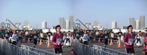 東京マラソン⑤11.02.27(交差法)