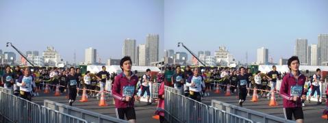 東京マラソン⑤11.02.27(平行法)