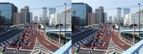 東京マラソン③11.02.27(平行法)