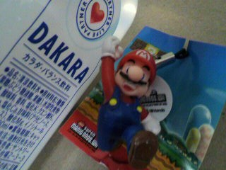 ニュー・スーパーマリオブラザーズ・Wii マスコット(スーパーマリオ)