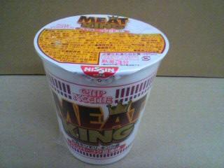 カップヌードル ミートキング ペッパーコク醤油味