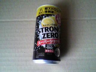 -196℃ ストロングゼロ〈スーパーショット〉レモン(200ml)