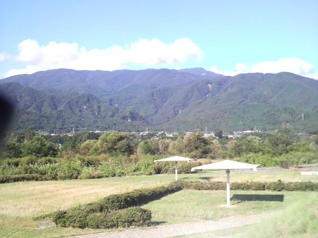 釜無川景色