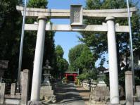 神社の近く