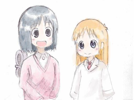 はかせ&なの(色つき背景なし)
