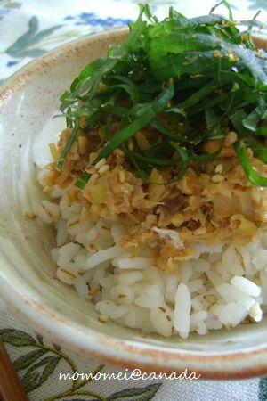 Sep-01-2010 鮭みそ丼②