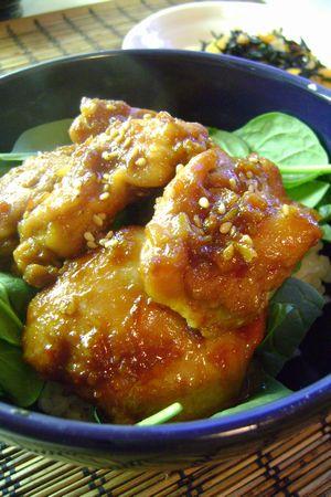 韓国風鳥丼