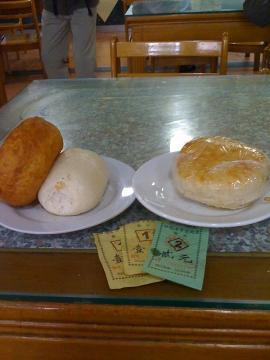 朝ご飯@白魁老号飯店