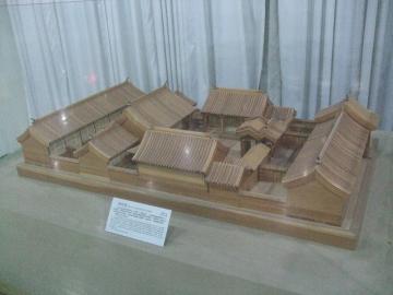 四合院の模型