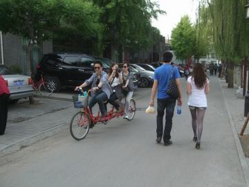 3人のり自転車