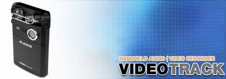 ALESIS VIDEOTRACK ハンドヘルドオーディオビデオレコーダー