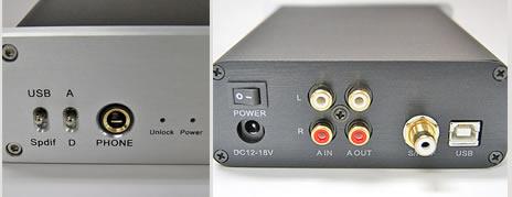 バーブラウン製DAC ヘッドフォンアンプ DN-USB DAC120SE 上海問屋