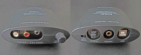 D/Aコンバーター搭載 ヘッドフォンアンプ DN-USB DAC 上海問屋