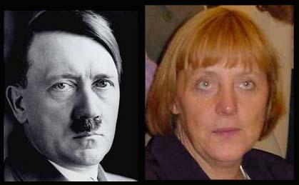 ヒットラーとメルケル