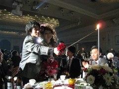 アキノリ結婚式