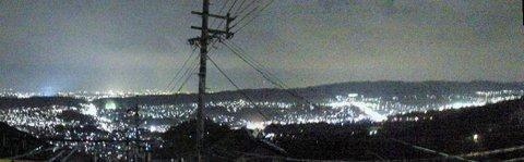 生駒山上からの夜景