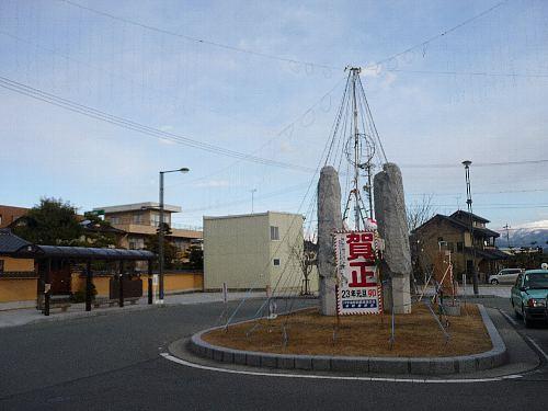 川中島駅前
