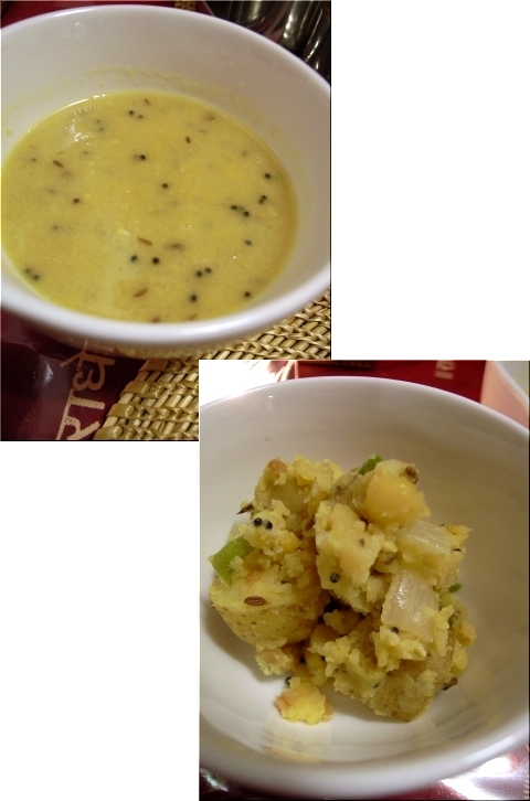 タリカロ 豆カリー&ポリヤル