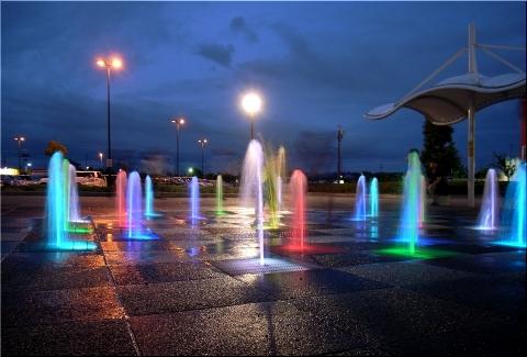 ハイウェイオアシス 噴水2