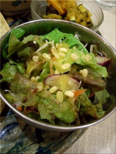 ケララ食堂 サラダ