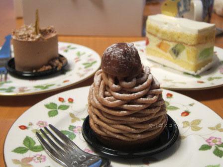 なかたに亭のケーキ♪
