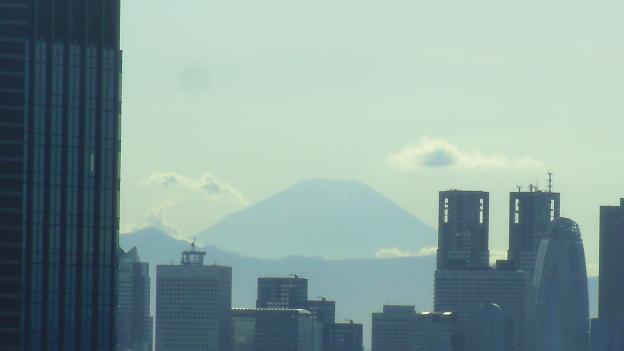 台風一過 富士山