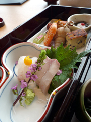 JR博多シティ・アミュプラザ博多の加賀屋 博多店で和食ランチ。