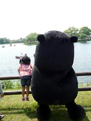 くまレレピクニック in 江津湖へおでかけ♪