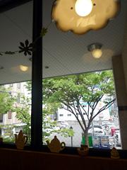 下通りのPrintemps(プランタン)で優しいカフェランチ♪