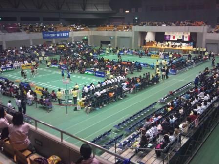 日本リーグ黒石大会開催