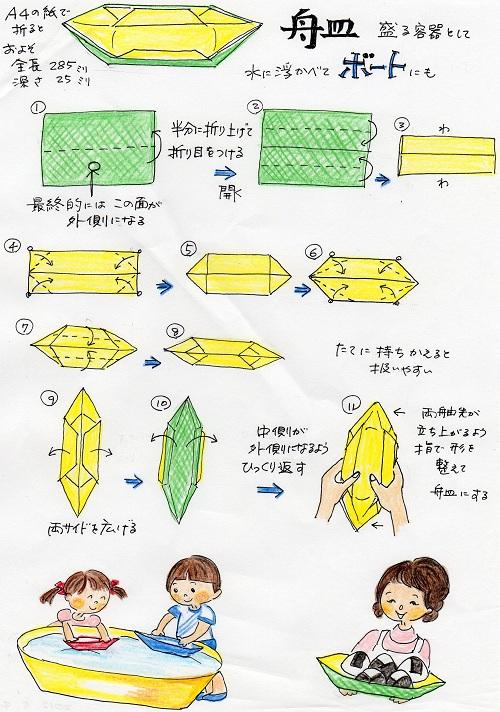 クリスマス 折り紙 折り紙 舟 : nannokoto.blog64.fc2.com