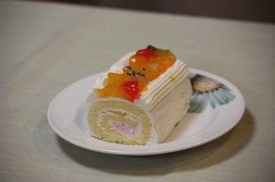 ワンちゃんケーキ