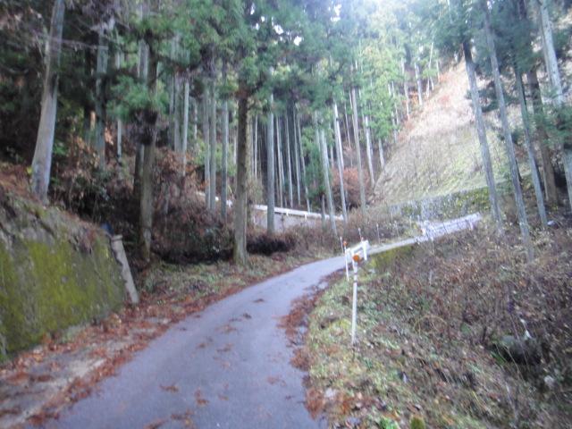 千人塚の坂