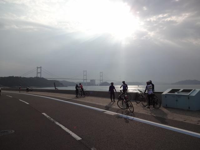 来島海峡大橋復路
