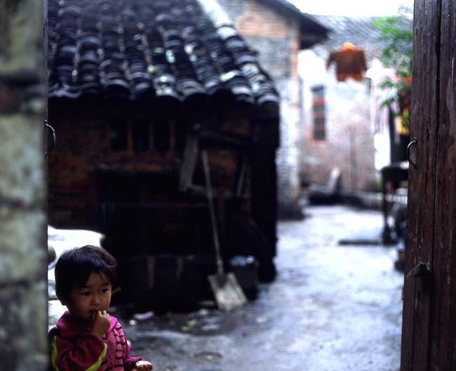 桂林の少女