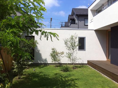 庭の通り2