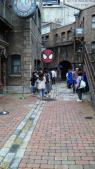 街にもスパイダーマン